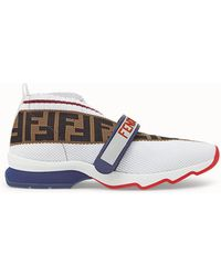 Fendi - Rockoko Runner Sneakers - Lyst