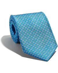 Ferragamo - Gancini Printed Tie - Lyst