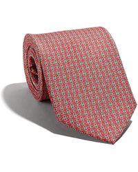 Ferragamo - Gancini-print Tie - Lyst