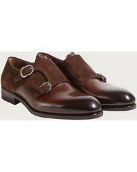 Ferragamo - Double Monk-strap Shoe - Lyst
