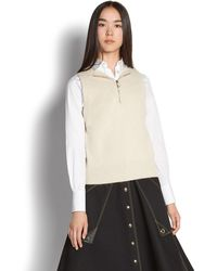 Ferragamo - Knit Vest With Hood - Lyst