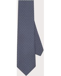 Ferragamo - Mixed Size Gancini Silk Tie - Lyst