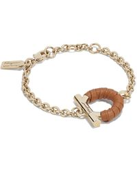 Ferragamo - Gancini Adjustable Bracelet - Lyst