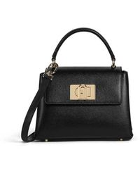 Furla 1927 Mini Black Handbag