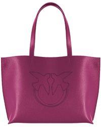 Pinko Everyday Cyclamen Shopping Bag - Purple