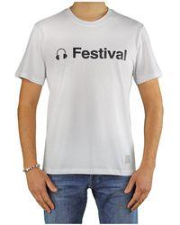 Department 5 Gars T-shirt - Wit