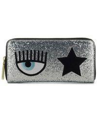 Chiara Ferragni Eyestar Wallet - Metallic