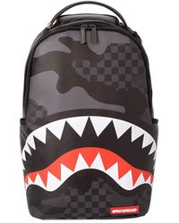 Sprayground SAC À DOS 3 AM CAMO BLACK - Noir