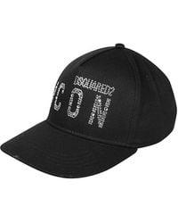 DSquared² Icon Zwart Rhinestones Baseball Cap