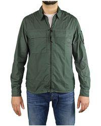 C.P. Company Militaire Groene Overhemd