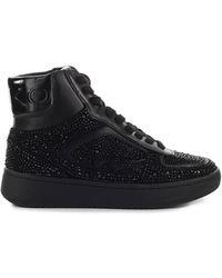 Pinko Harlow 3 Basket Jewel Sneaker - Zwart