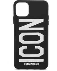 DSquared² Icon Iphone 11 Pro Max Cover - Zwart