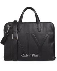 Calvin Klein Mallette Ny Noir