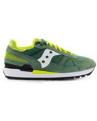 Saucony Shadow Green Gele Sneaker - Groen