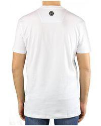 Philipp Plein Ss Skull T-shirt - Wit