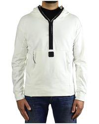 C.P. Company Metropolis Series Witte Hoodie