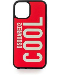 DSquared² COVER IPHONE 12 PRO COOL ROSSA - Rosso