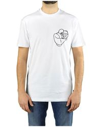 Philipp Plein Ss Iconic Plein T-shirt - Wit