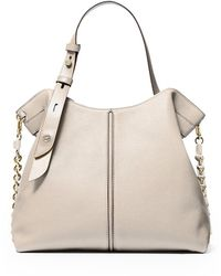Michael Kors Downtown Astor Beige Shopper Tas - Naturel