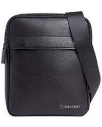 Calvin Klein Borsa A Tracolla Nera Logo - Nero