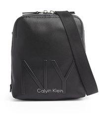 Calvin Klein Borsa A Tracolla Ny Nera - Nero