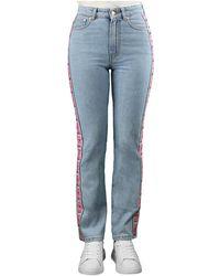 Chiara Ferragni Logomania Regular Jeans - Blauw