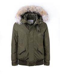 Woolrich Polar Militaire Groene Bomberjas