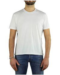 Paolo Pecora WEISS BAUMWOLLE T-SHIRT - Weiß