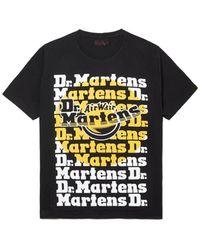 Dr. Martens T-SHIRT TARGET PRINT NOIR DR.MARTENS