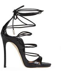 DSquared² Riri Black Ayers Sandal 35
