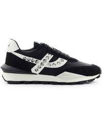 Ash Spider Studs Zwart Sneaker