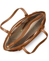 Michael Kors Voyager Light Brown Shopping Bag