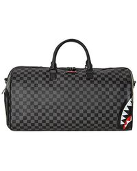 Sprayground Sac De Voyage Sharks In Paris Gris
