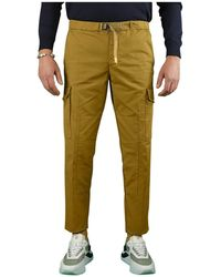 White Sand Light Brown Chino Trousers