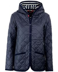 Saint James CRAYDON STJ MARINEBLAU DAUNENJACKE