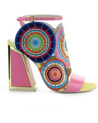 Kat Maconie Frida Veelkleurige Sandaal - Roze