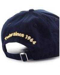 DSquared² Dsq2 Canada Marineblauwe Baseball Cap
