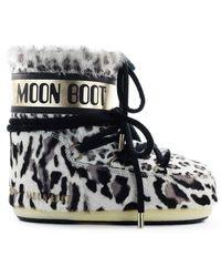 Moon Boot Mars Animal Ponyskin Sneeuwlaars - Meerkleurig