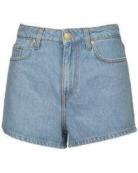 Chiara Ferragni Flirting Denim Shorts - Blauw