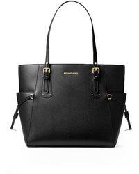 Michael Kors Voyager Shopping Bag - Black