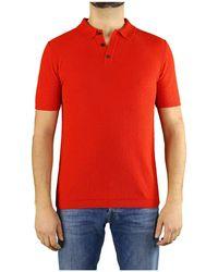Roberto Collina Poloshirt - Rood