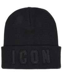 DSquared² Icon Zwart Muts