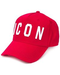 DSquared² Red Icon Baseball Cap