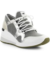 Michael Kors Liv Khaki Sneaker - Grijs