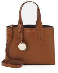 Emporio Armani Light Brown Handbag