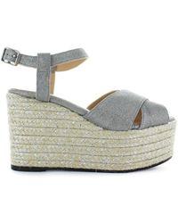 Castañer Espino Wedge Sandal - Metallic