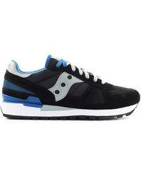 Saucony Shadow Original Blau Sneaker - Zwart