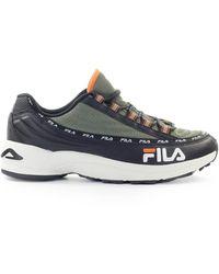 Fila Dragster97 Olive Goen Sneaker - Zwart