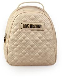 Love Moschino Quilted Naakt Rugzak - Roze