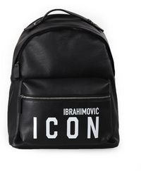DSquared² - SAC À DOS ICON IBRAHIMOVICx NOIR - Lyst